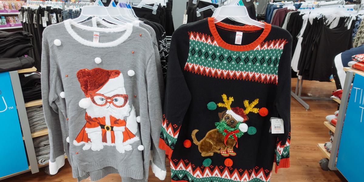クリスマスのセーター