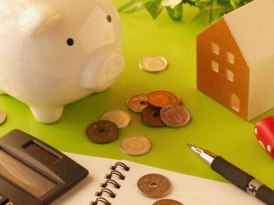 ブタ貯金箱とお金