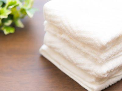 たたまれたタオル
